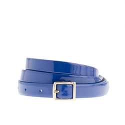 Patent Leather Belt by J.Crew in Pitch Perfect 2