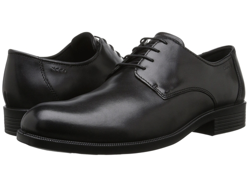 Harold Plain Toe Tie Oxford Shoes by Ecco in Ballers