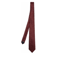 Bird-Print Silk Tie by Lanvin in Designated Survivor