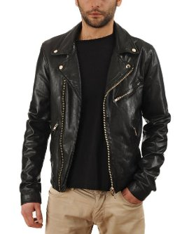 Men's Cowhide Leather Jacket by Exemplar in If I Stay