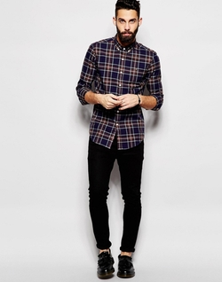 Plaid Check Shirt by Farah in Silicon Valley