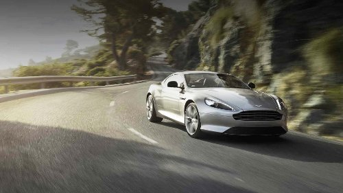 DB9 Coupe by Aston Martin in Furious 7