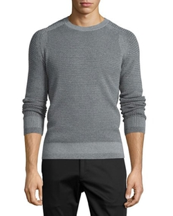 Aster Textured Raglan-Sleeve Sweater by Theory in Marvel's Luke Cage