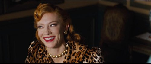 Custom Made Marquise de Merteuils Leopard Print Dress (Lady Tremaine) by Sandy Powell (Costume Designer) in Cinderella