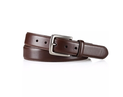 Edge-Stitched Leather Belt by Polo Ralph Lauren in Why Him?