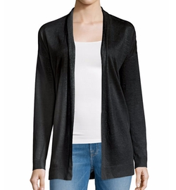Armelle S Sag Harbor Open-Front Cardigan by Theory in Guilt