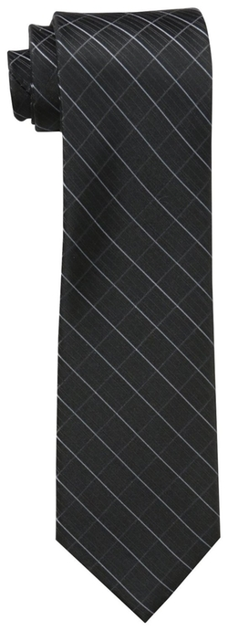 Men's Etched Windowpane B Tie by Calvin Klein in Paddington