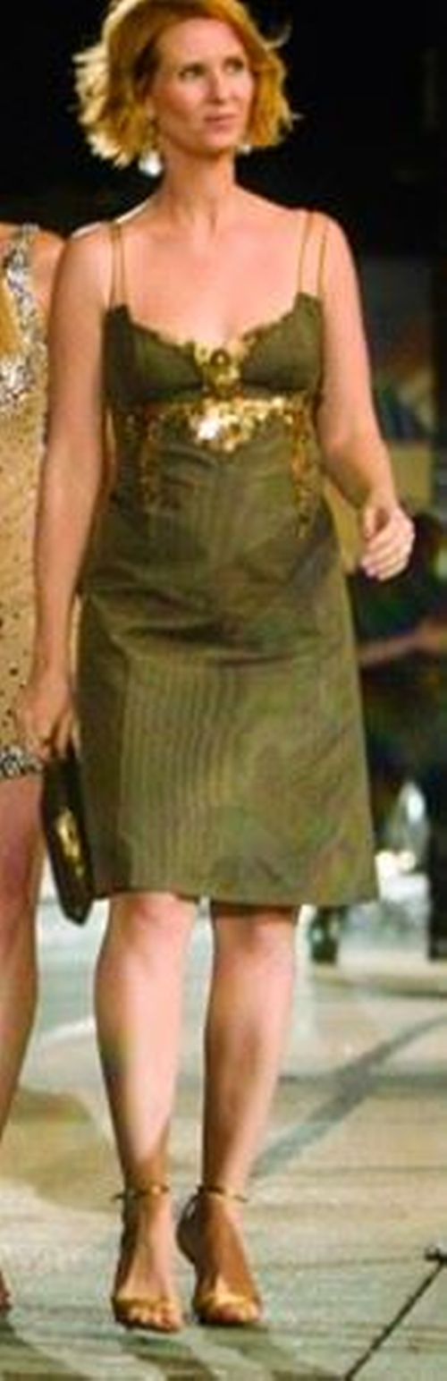 Sequin Sheath Dress by Carolina Herrera in Sex and the City