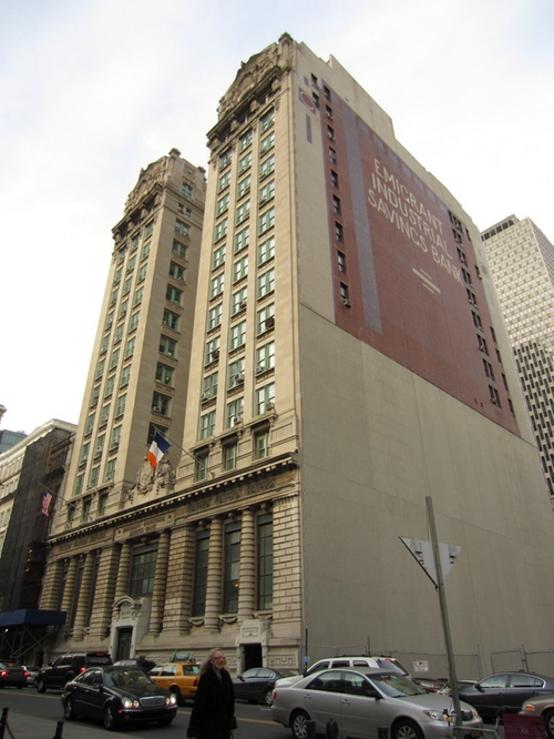 Former Emigrant Industrial Savings Bank Building New York City, New York in The Walk