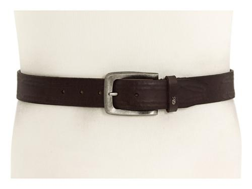 Strap with Leather Covered Hand Stitch Belt by John Varvatos in Chronicle