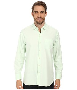 Island Twill Button Up Shirt by Tommy Bahama in Couple's Retreat