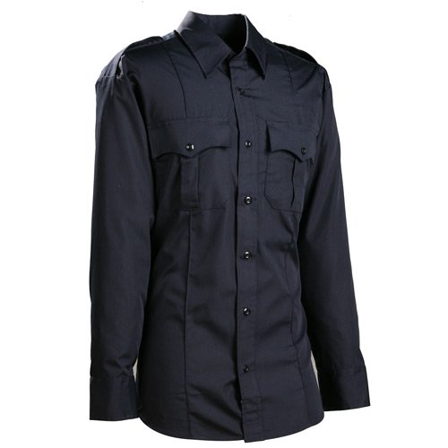 Long Sleeve Poly Cotton Military Style Shirt by Duty Pro in Only God Forgives