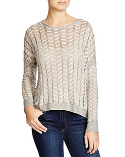 Cable Mesh Sweater by Generation Love in Modern Family