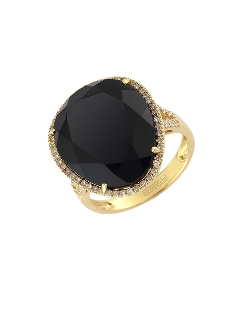 Onyx & Diamond Ring by Effy in American Horror Story - Season 5 Episode 6