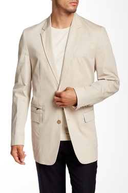 Julian Sharkskin Two Button Notch Lapel Jacket by Robert Graham in Ride Along 2
