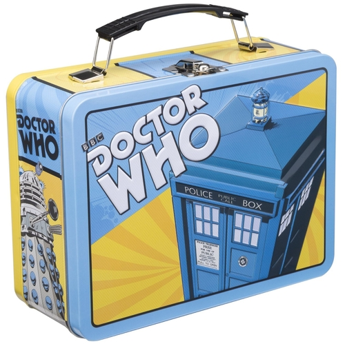Doctor Who Large Tin Tote Lunch Box by Vandor in The Big Bang Theory - Season 9 Episode 4