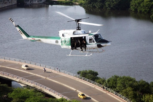 212 Helicopter by Bell in Maze Runner: The Scorch Trials