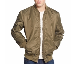 Nylon Bomber Jacket by American Rag in Pretty Little Liars