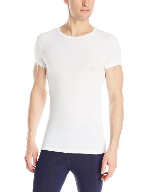 Modal Crew Neck T-Shirt by Emporio Armani in Absolutely Anything