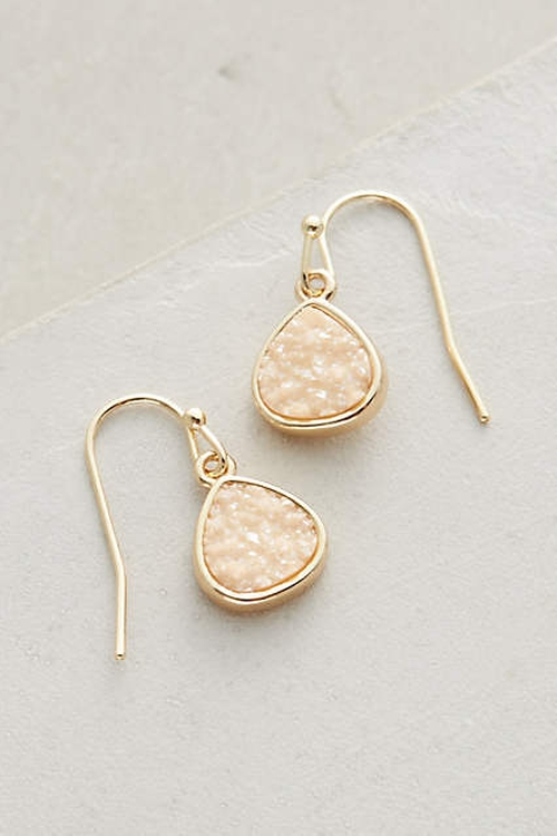 Dollop Drop Earrings by Anthropologie in Arrow - Season 4 Episode 14