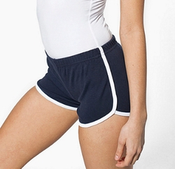 Interlock Running Shorts by American Apparel in Riverdale