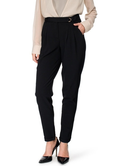 Buckle Trousers by Kardashian Kollection in Keeping Up With The Kardashians - Season 11 Episode 2