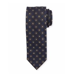 Medallion Textured Ground Tie by Brioni in Designated Survivor