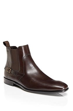 'Mexis' Leather Buckle Strap Ankle Boot by Boss Hugo Boss in X-Men: Days of Future Past