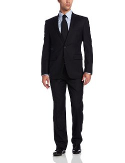 Men's Two-Piece Wool Suit by Kenneth Cole New York in Hot Pursuit