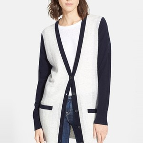 Colorblock Cardigan by Vince in Scandal - Season 5 Episode 7