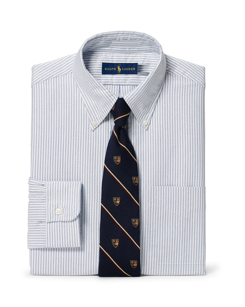 Slim-Fit Striped Oxford Shirt by Polo Ralph Lauren in Billions