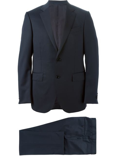 Classic Two Piece Suit by Ermenegildo Zegna in Suits - Season 5 Episode 14