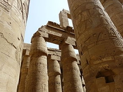 Luxor, Egypt by Karnak Temple Complex in The Spy Who Loved Me