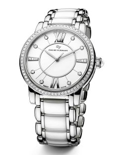 Classic Quartz Watch - White Ceramic by David Yurman	 in That Awkward Moment