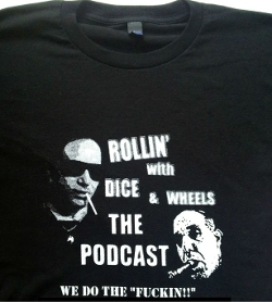 Official Shirt by Rollin with Dice and Wheels in Entourage