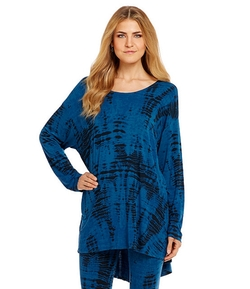 Hughes Aguilos-Print Hi-Lo Tunic by Bryn Walker in Vacation