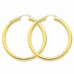 Tube Hoop Earrings by Icecarats in Tomorrow Never Dies