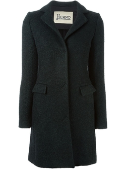 Single Breasted Short Coat by Herno in Elementary