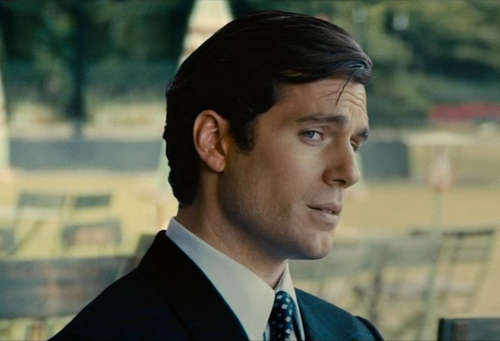 Custom Made Three Piece Suit by Timothy Everest in The Man from U.N.C.L.E.