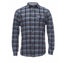 Jaspe Plaid Egyptian Cotton Shirt by Jachs NY in American Assassin