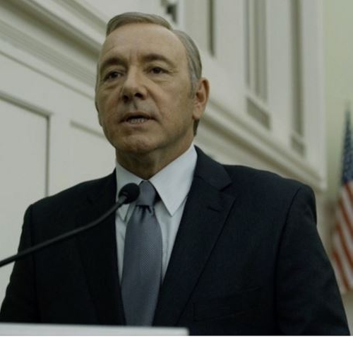 Custom Made Black Suit by Hugo Boss in House of Cards - Season 4 Episode 3
