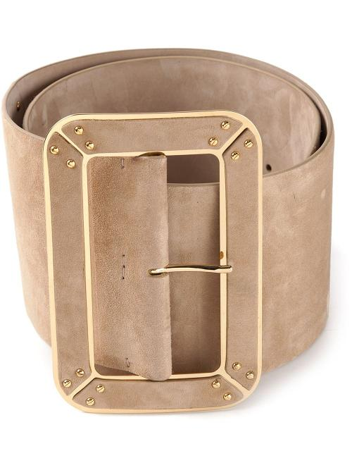 Wide Belt by Ermanno Scervino in And So It Goes
