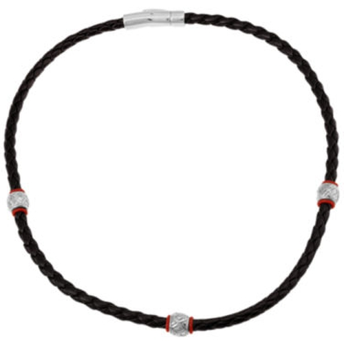 Braided & Stainless Steel Necklace by JC Penney in Rock The Kasbah