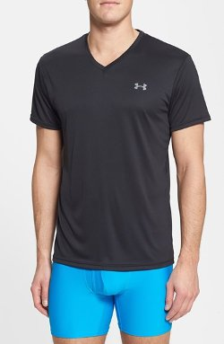 V-Neck Heatgear T-Shirt by Under Armour in Furious 7