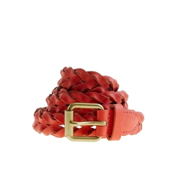 Braided Leather Belt by J.Crew in Pitch Perfect 2
