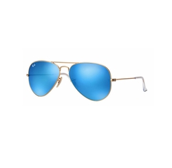 RB3025 Aviator Sunglasses by Ray-Ban in CHIPs