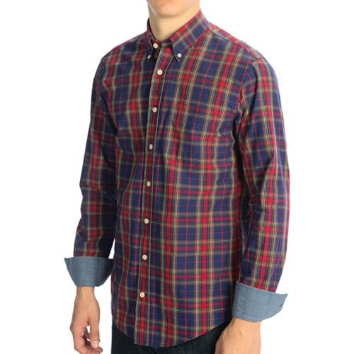 Button-Down Plaid Poplin Shirt by Gant in While We're Young