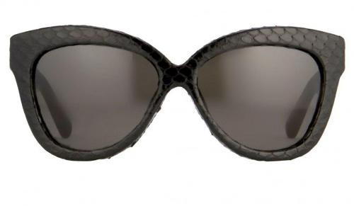 Snakeskin Cat Eye Sunglasses by Linda Farrow in The Other Woman