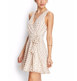 Subtle Floral Wrap Dress by Forever21 in Jane the Virgin