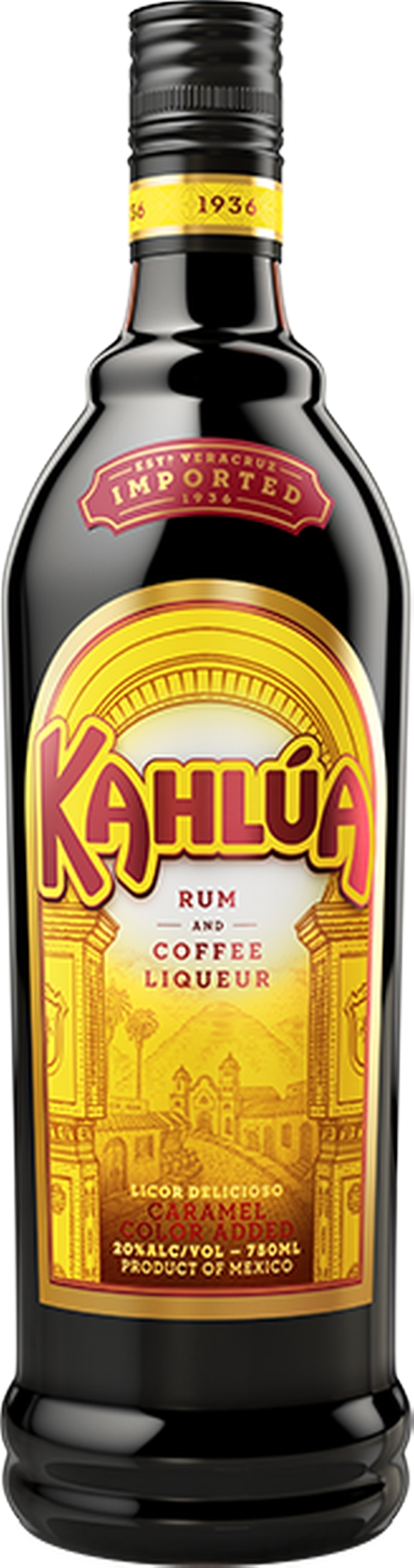 Original Rum and Coffee Liqueur by Kahlua in The Big Lebowski